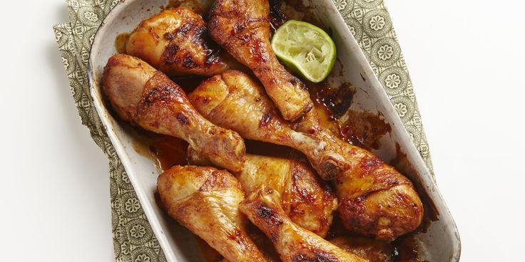 Hete kip uit de oven  drumsticks 45 min 6 kh 470 kcal