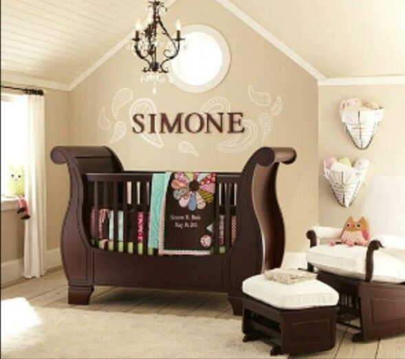 Baby nursery ideas! Love the name!
