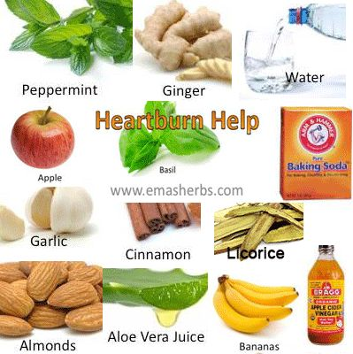 Natural Cure For Heartburn And Gas