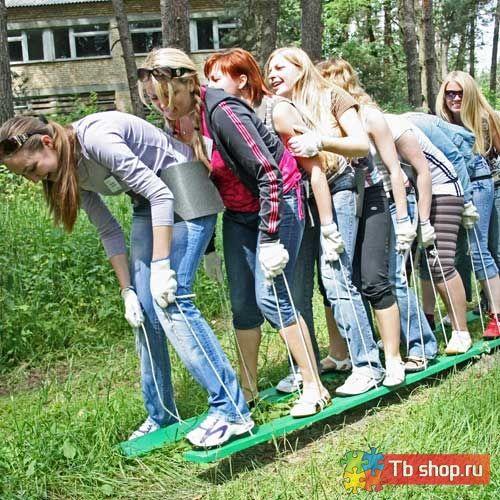 Упражнение для организации тимбилдинга МИНИ-КОМАНДНЫЕ ЛЫЖИ