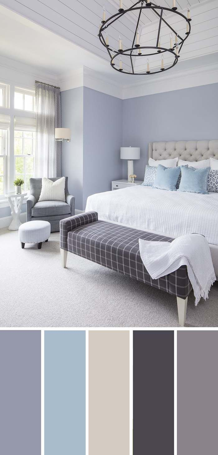20 Beautiful Bedroom Color Schemes Color Chart Included Blue Bedroom Colors Best Bedroom Colors Beautiful Bedroom Colors