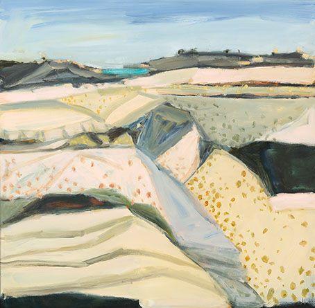 "Artworks - Jo Bertini. ""Threads and Seams of the White Desert"""
