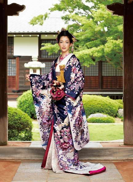 Japanese KIMONO for wedding: