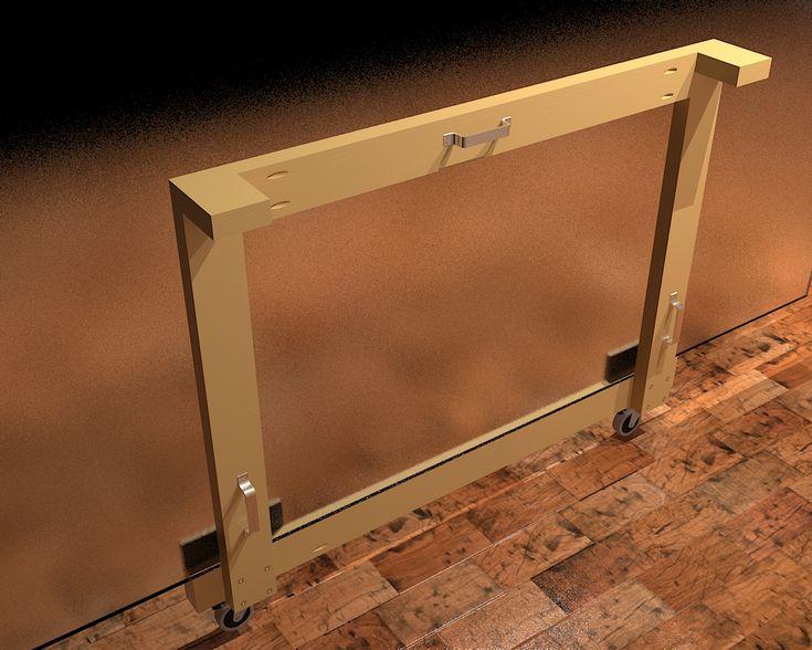 DIY Drywall/Plywood Panel Carrier
