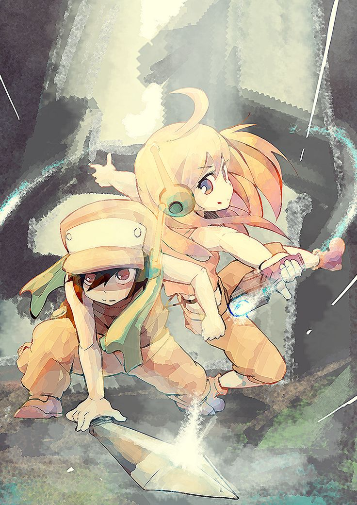 Quote and Curly Brace | Cave Story