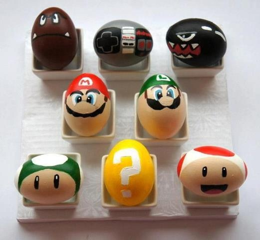 Creative #Nintendo eggs! Awesome!