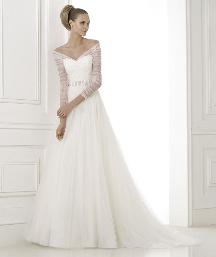 Wedding Dresses: Pronovias Spring 2015 Collection – Tulle Tales