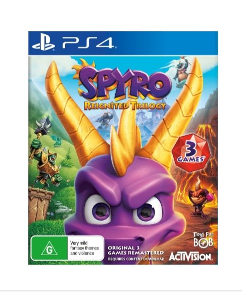 Spyro reignited Trilogy-ps4 Playstation 4 CD Game Brand New 2% off