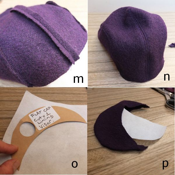 URBANDON: FREE FLAT OR NEWSBOY CAP PATTERN AND TUTORIAL