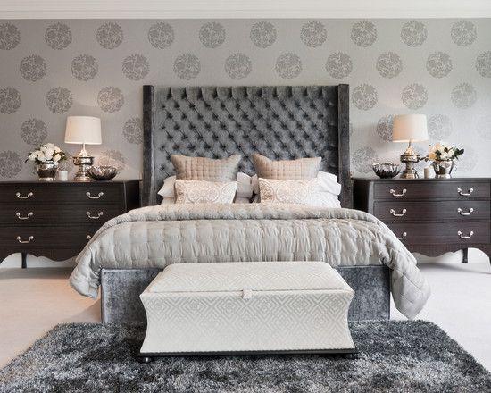 20 Beautiful Gray Master Bedroom Design Ideas By Markovski.
