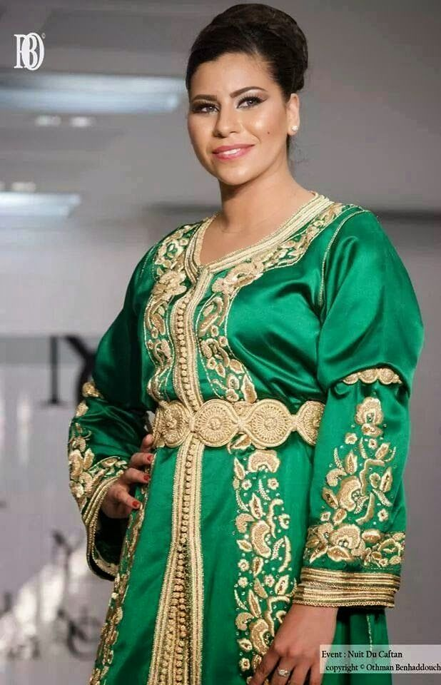 Takchita grande taille style traditionnel pour femmes