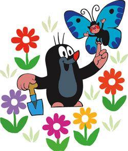 Der kleine Maulwurf - einer der Helden meiner Kindheit! Auch wenn er nicht gerade viel gesagt hat...
