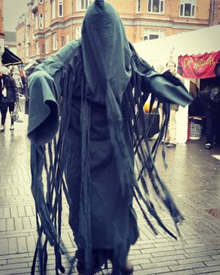 A Dementor | 31 Alternative Harry Potter Halloween Costume Ideas