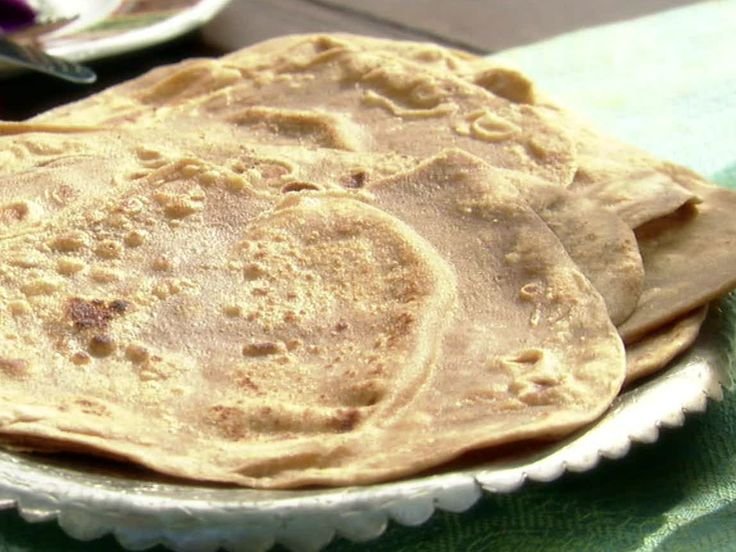 Indian Whole Wheat Griddle Breads: Chapatis Recipe : Aarti Sequeira : Food Network - FoodNetwork.com