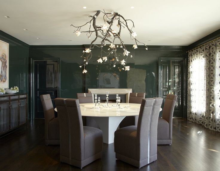 Contemporary Dining Room In Greenwich CT By Fox Nahem Associates
