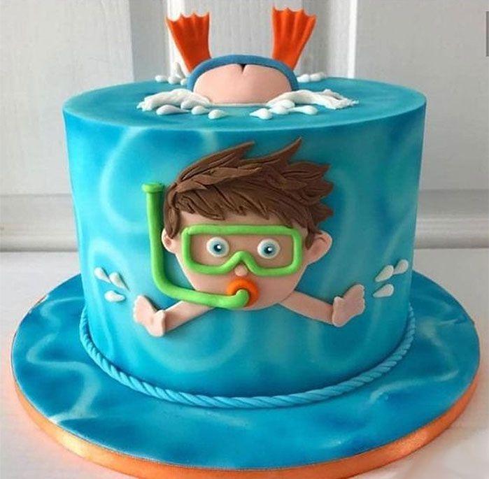 55+ Tolle, coole und wunderschöne Geburtstagstorten – Kochen & Küche – #Co …   – besonderer humor