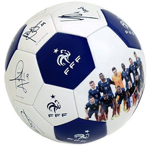 Ballon de football FFF - Signatures - Collection officielle Equipe de France - Taille 5
