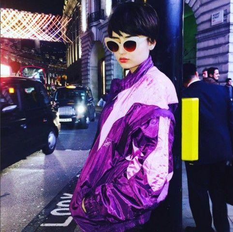 Foto tratta dall'account Instagram di Greta Menchi