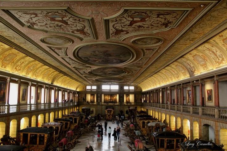 Museu dos Coches em Lisboa - PORTUGAL