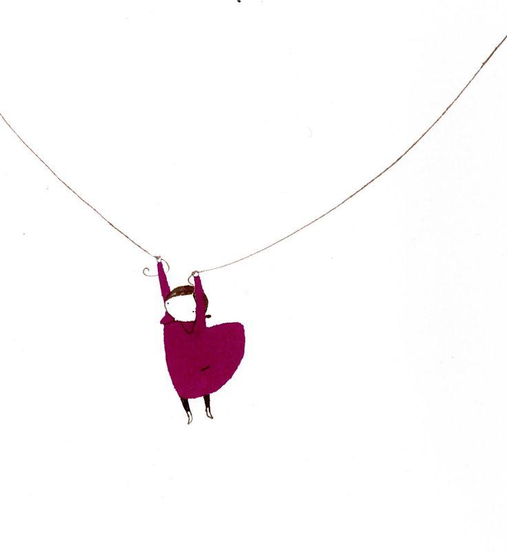 Elena Odriozola, could be a cute pendant