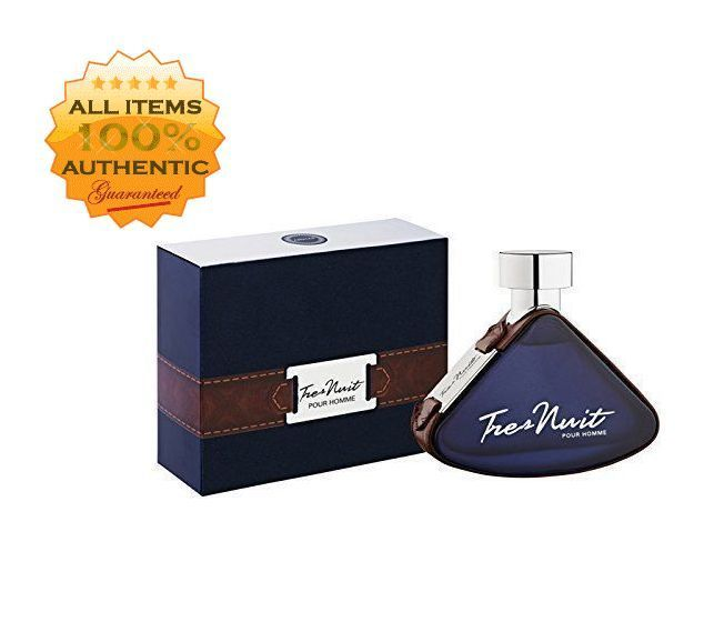 TRES NUIT BY ARMAF 3.4 OZ. EDT FOR MEN BRAND NEW IN SEALED BOX #ARMAF