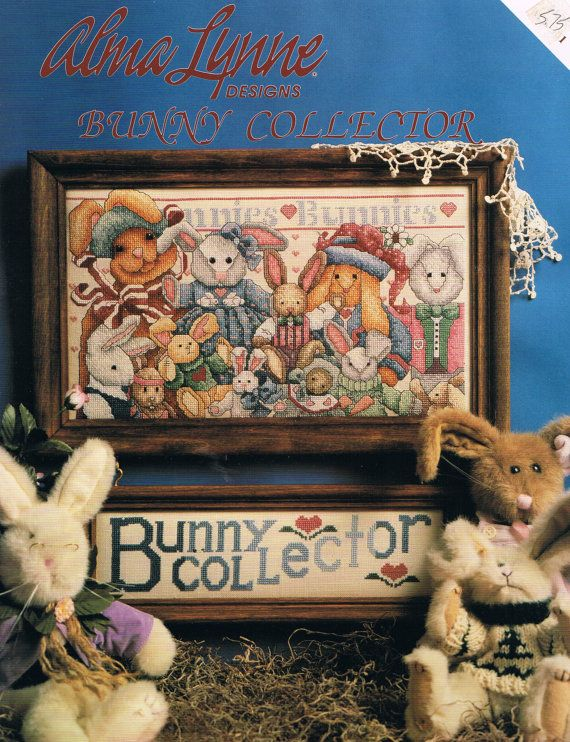 CCS ALMA LYNNE Bunny Collector Counted by BusyBeaverBoutique