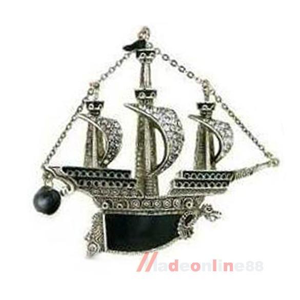 Купить товарШик панк винтаж серебряный парусная лодка корабль пирата судно дракон брошь Pin кристалл M3AO в категории Брошина AliExpress.     Шик панк старинные серебряные парусная лодка корабль пират судна Дракон Брошь контактный кристалл M3AO      100% нов