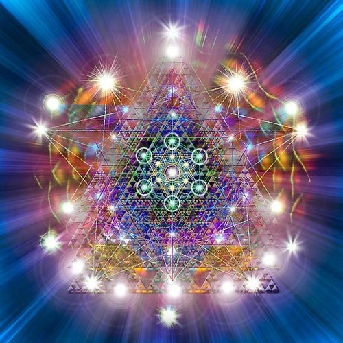 Embedded in the Human matrix - Written in the Sacred Geometric Language of Light…