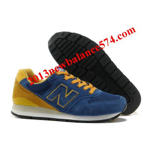 New Balance CM996USH Blue Orange Yellow Suede men shoes,Half Off New  Balance Shoes 2013
