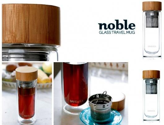 "(by you): ""Noble Glass Travel Mug by DAVIDsTEA on charliestine.net"""
