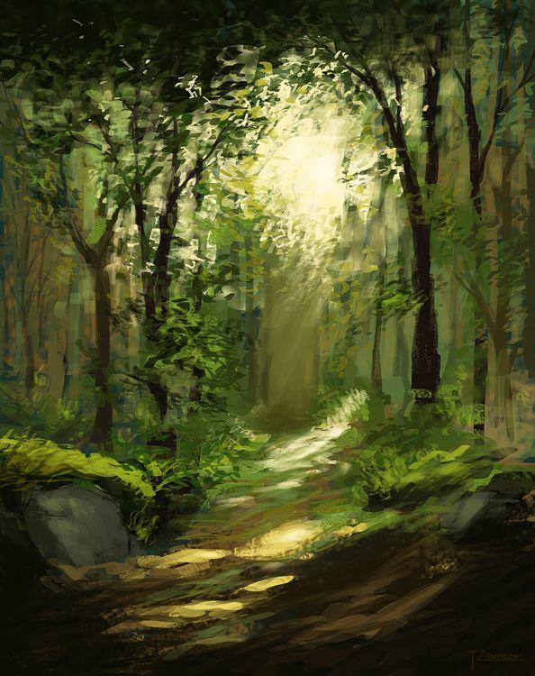 Les tribulations du Renard  099fa1d4251324b3ce47d0e20294fc92--watercolor-landscape-cover-art