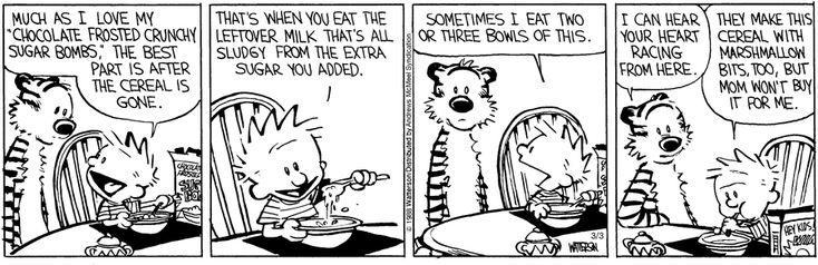 existentialism in bill wattersons comic strips As per [bill watterson's wishes]( .