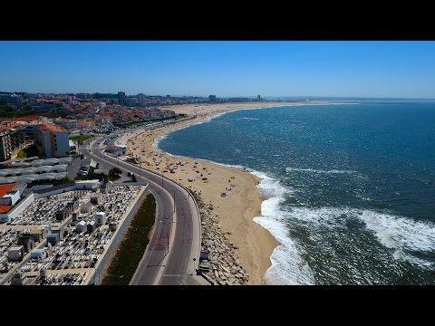 Figueira da Foz and Buarcos aerial view - 4K Ultra HD - YouTube