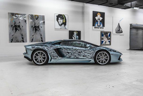 Lamborghini Aventador Roadster by Jona Cerwinske à vendre !