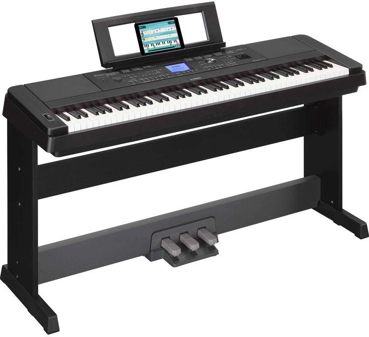 Pianul digital portabil Yamaha DGX-660 B include o multitudine de functii utile si poate fi achizitionat prin Music and More. 3 pedale.