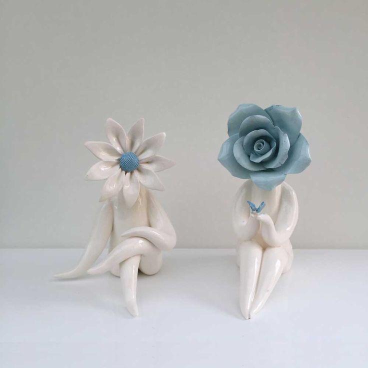 Glazed flower people