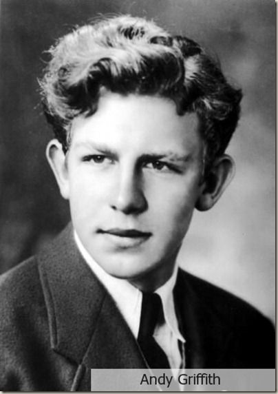 Andy Griffith was a1949 graduate from UNC-Chapel Hill where he received a degree in Music. He was a music teacher in Goldsboro schools and performed the role of Sir Walter Raleigh in 'The Lost Colony' at Manteo, NC before going on to become the actor we all knew and loved.