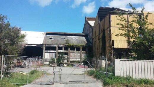 Abandoned factory. Brunswick Road, Wanganui, New Zealand