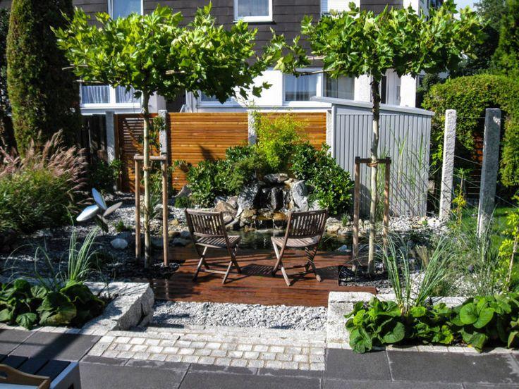 283 Best Images About Gärten ♥ On Pinterest | Gardens, Terrace ... Fotos Von Modernen Bdern