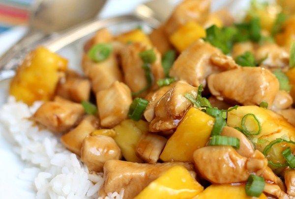 Как сделать курицу с ананасами в мультиварке