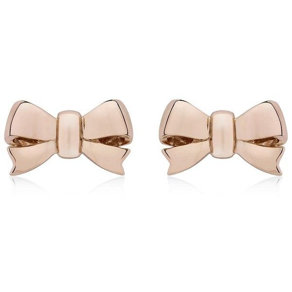 Thomas Sabo Bow Stud Earrings found on Polyvore