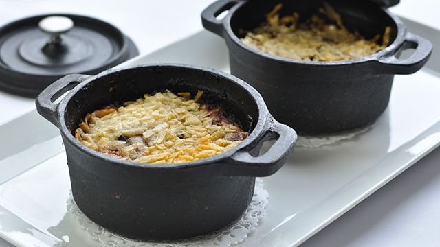 «Voici un plat tout en légumes. Il est bien important de faire ces derniers sur le gril ou à la poêle en évitant de trop...