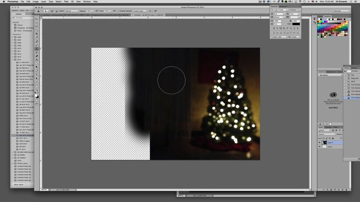 December Daily® 2014 | Using The Clone Stamp Tool To Transform A Vertical Image To Horizontal