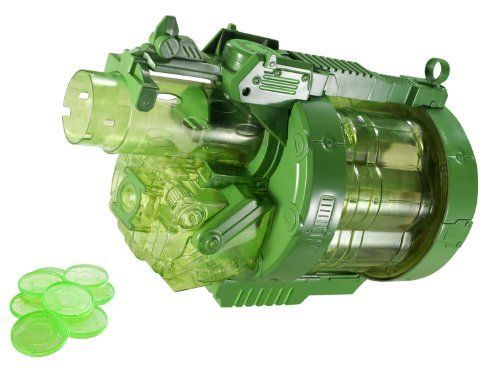 Green Lantern Colossal Cannon Blaster -- Details can be found by clicking on the image.