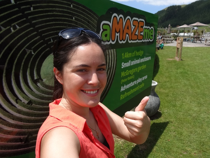 Thumbs up for Amazeme...1.4km of Hedge, Small animal enclosure, McGregors Garden, Adventure Play area and a light Refreshment Cafe.   http://www.amazeme.co.nz/