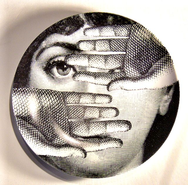 17 best images about fornasetti and inspirations on pinterest ceramics plates and red lips. Black Bedroom Furniture Sets. Home Design Ideas