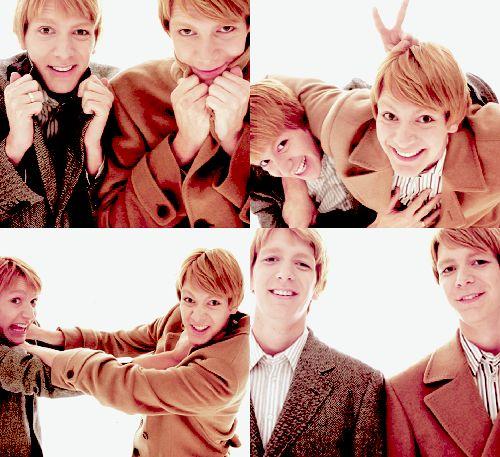 Estoy enamorada de los gemelos Weasley