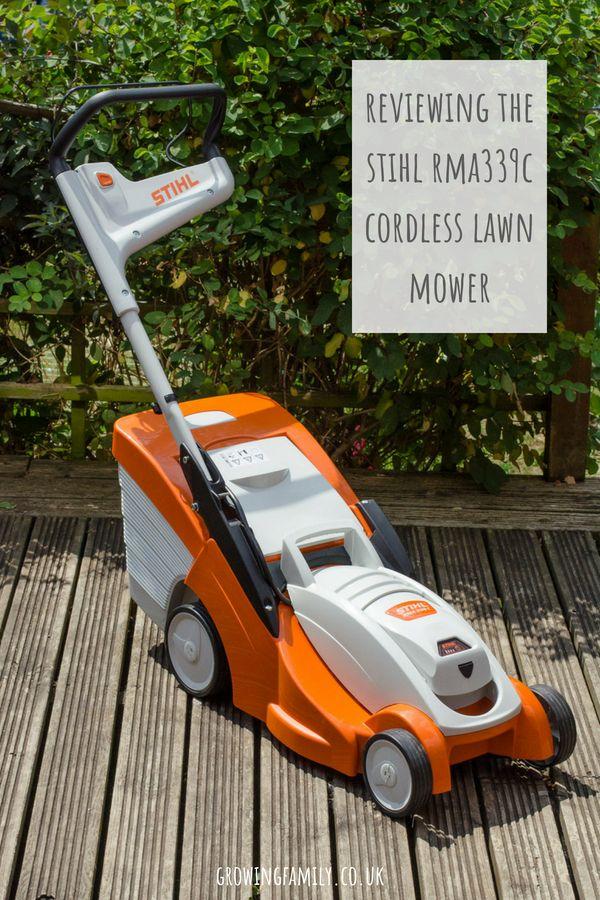 Review Stihl Rma339c Cordless Lawn Mower Cordless Lawn Mower