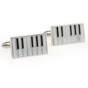 """label-cravate - Boutons de manchette """"Clavier de piano"""""""
