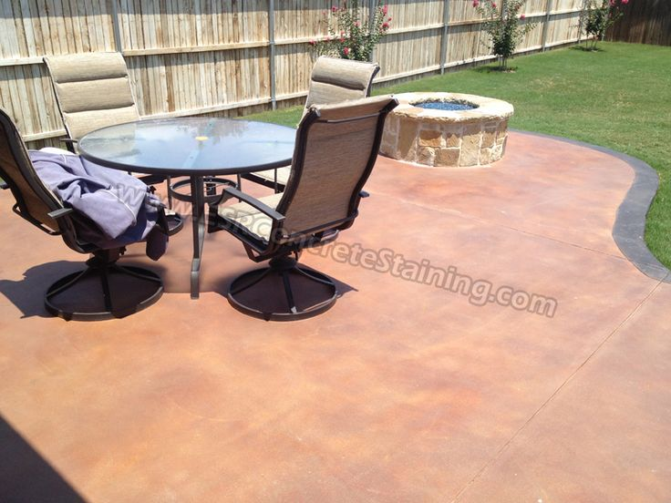 Affordable Concrete Stain Outdoors With Staining Outdoor Concrete.
